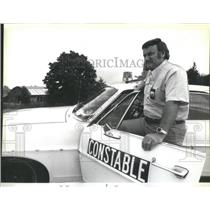 1979 Press Photo Jerry Glenn Owens Constable Texas Fund for Animals - RSC77283
