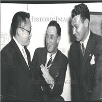 1937 Press Photo Harry Bridges President Business Union