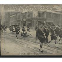 1974 Press Photo St. Patrick's Day Parade Montreal