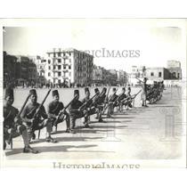 1935 Press Photo Cairo Egypt Egyptian Army