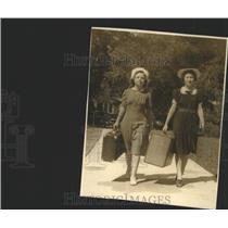 1939 Press Photo Mound Park School Nursing Students