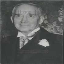 1957 Press Photo George Henry Garrey Mining Man