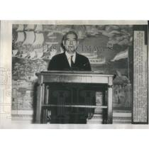 1946 Press Photo Admiral K. Nomura Imperial Japanese Navy and special envoy to t