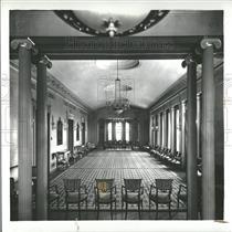 1938 Press Photo University Michigan Graduate studies