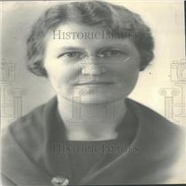 1936 Press Photo Mrs. Clarence L. Ireland Smiley Junior
