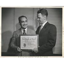 1954 Press Photo Shwayder Bros Inc Denver Colorado