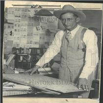 1929 Press Photo Colorado Sheriff LE Alderman - RRY23323