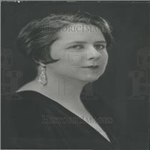 1933 Press Photo Am Assn Univ Women Music Chairman