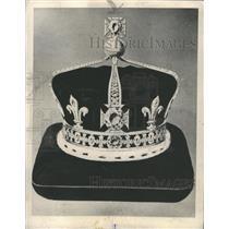 1976 Press Photo Koh-I-Noor diamond in Britain's crown