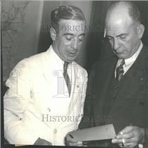 1934 Press Photo Francis J.Gorman Chairman Textile