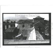1991 Press Photo Jaca City Northeastern Spain