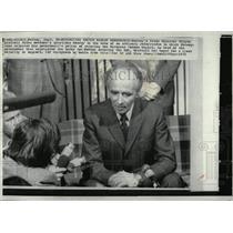 1972 Press Photo Norway Prime minister Trygve Bratteli