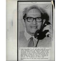 1974 Press Photo Albert Claude Rockefeller University - RRU62413
