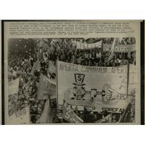 1975 Press Photo Portugal Communist Party Lisbon - RRX62047