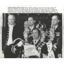 1974 Press Photo King Carl XVI Gustaf King Sweden
