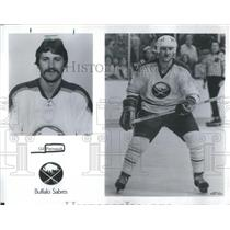 Press Photo Gilbert Perreault Canadian Ice Hockey Buffalo Sabres - RSC28755