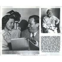 1980 Press Photo Harold Russell American War World War II Veteran & Actor
