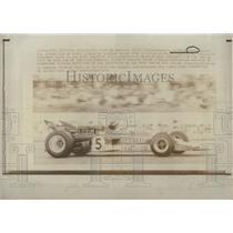 1970 Press Photo Austria's Joachim Rindt Drives Lotus-Ford British Grand Prix