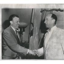 1952 Press Photo Walter P. Reuther American Labor Leader - RSC54367