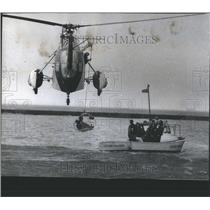 1974 Press Photo US Coast Guard Rescue Exercise