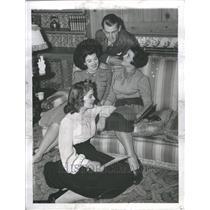 1940  Press Photo Sue Carol (Actress )