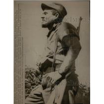 1968 Press Photo Carlos Betancourt Military Commandor - RRX34531