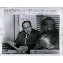 1963 Press Photo Warren Cochrane Atlanta Negro Leader - RRY61863