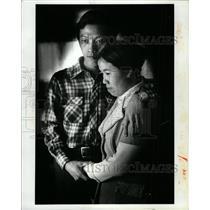 1980 Press Photo Refugees Laos Dang Shoua
