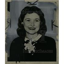 1946 Press Photo Mary O'Brien, Detroit Socialite. - RRW82481