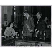 1954 Press Photo Michigan Communists Inquiry - RRW90647
