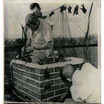 1964 Press Photo Helath Sleeping sickness Illinois dept - RRW24445