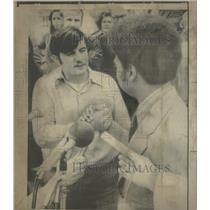 1972 Press Photo Berkeley California Mayor Warren Widener Vietnam War Soldier
