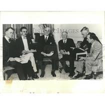 1933 Press Photo State Cordell Hull Chairman US World - RRX83095