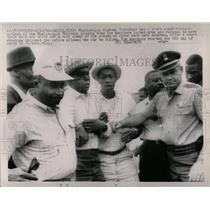 1966 Press Photo Mississippi Police Marchers - RRX78171
