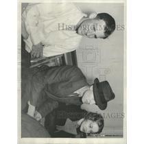 1935 Press Photo Rogers Kin Attend Uplifters ceremonies - RRX94881