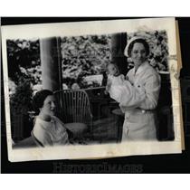 1935 Press Photo William Born To Astor Family