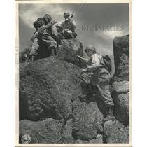 1946 Press Photo Camp Carson Colorado Air Corps North - RRX89607