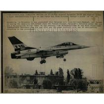 1975 Press Photo General Dynamics F-16 Fighter Jet - RRW56995