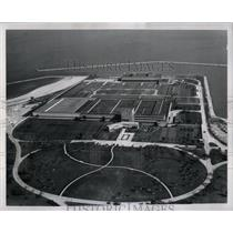 1967 Press Photo Aerial View Filtration plant Airway - RRW66423