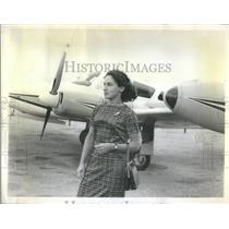 1963 Press Photo Mrs. Russman, Licensed plane pilot - RSC66155