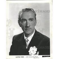 1946 Press Photo Clifton Webb Actor - RRW38791
