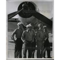1951 Press Photo Denver weekend warriors squadron plane - RRX69417