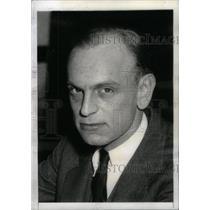1936 Press Photo James M. Landis Securities Exchange - RRX41597