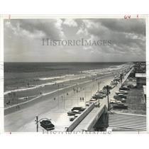 1961 Press Photo Ocean Boulevard Boardwalk Jacksonville - RRX83745