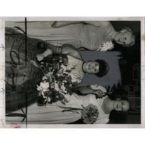 Press Photo Royal Portrait Radiant Mrs Lillian Mellor - RRX67937