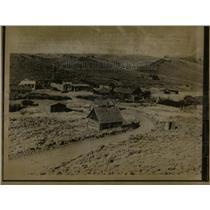 1957 Press Photo Wyoming South Pass City - RRX75409