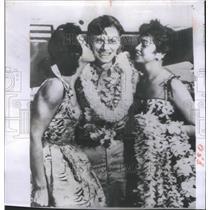 1956 Press Photo John Arnold American Colonel General Hawaii Mission