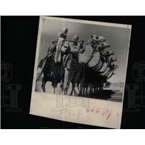 1953 Press Photo Amman Cowboys Arab world Camel corps - RRX65289