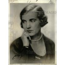 1932 Press Photo Princess Ingrid Sweden Engagement - RRW81453