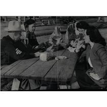 1947 Press Photo Wallis Picnic City Park Denver - RRX76287